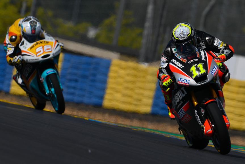 Sandro Cortese, Juanfran Guevara, LeMans Moto2 & Moto3 Oficial Test
