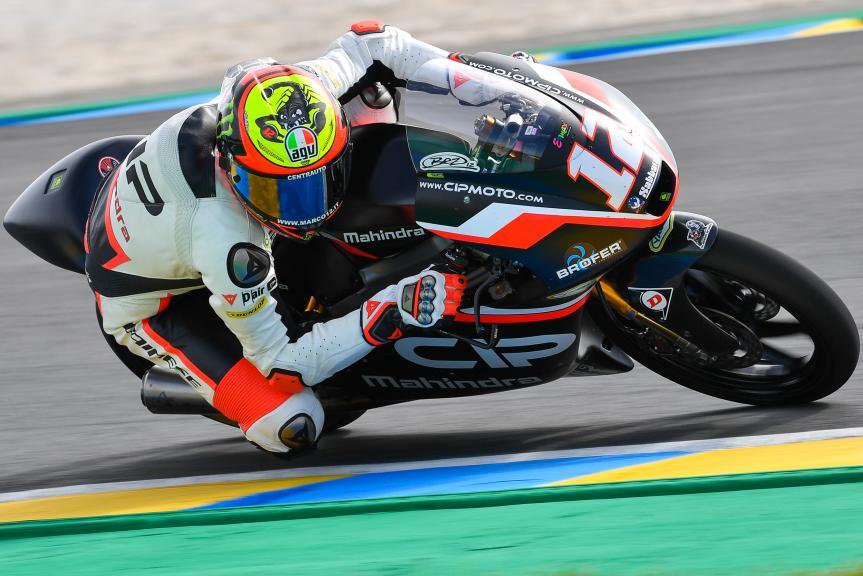 Marco Bezzecchi, CIP, LeMans Moto2 & Moto3 Oficial Test
