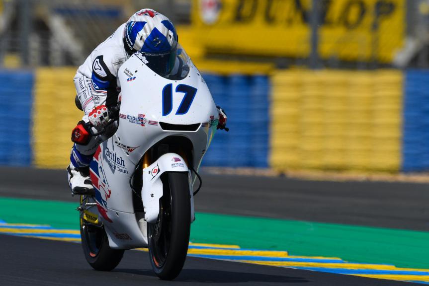 John Mcphee, British Talent Team, LeMans Moto2 & Moto3 Oficial Test