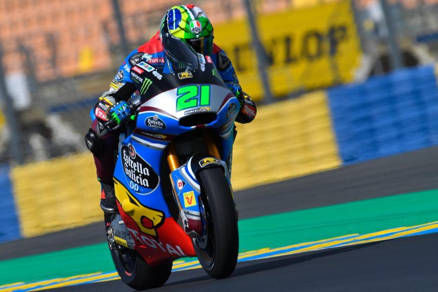 Franco Morbidelli, EG 0,0 Marc VDS, LeMans Moto2 & Moto3 Oficial Test