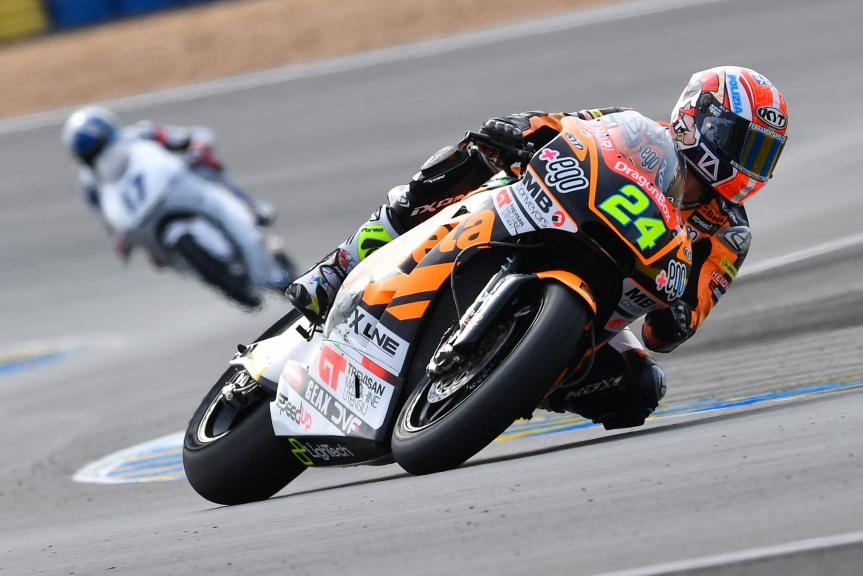Simone Corsi, Speed Up Racing, LeMans Moto2 & Moto3 Oficial Test