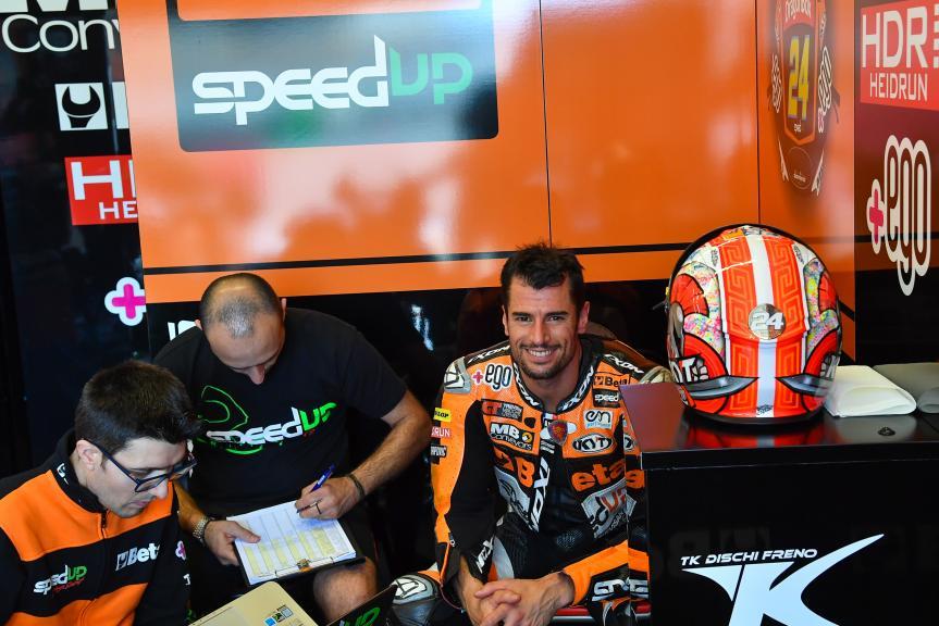 Simone Corsi, Speed Up Racing, LeMans Moto2 & Moto3 Oficial Test