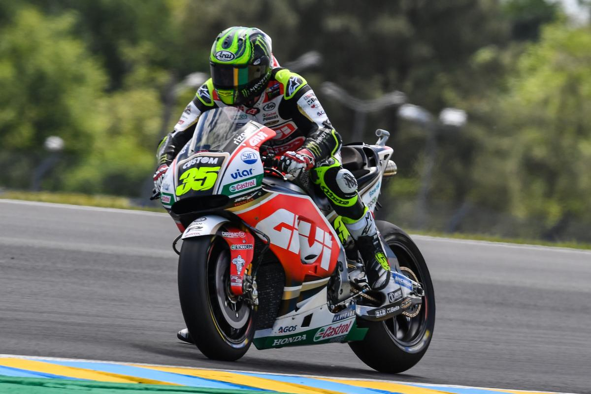 """Crutchlow """"happy enough to finish in the top five"""" 