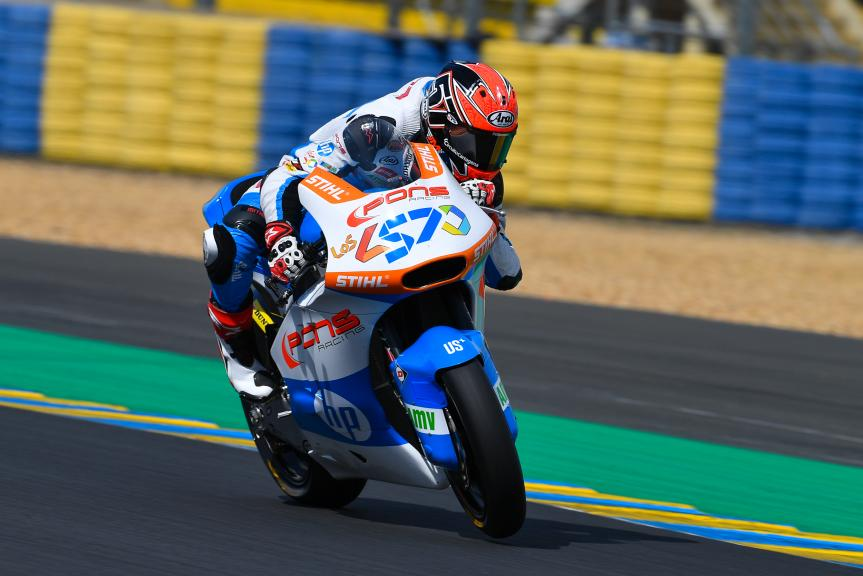 Edgar Pons, Pons HP40, LeMans Moto2 & Moto3 Oficial Test
