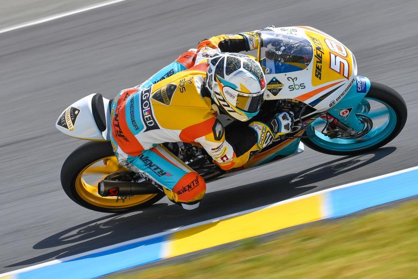 Juanfran Guevara, RBA BOE Racing Team, LeMans Moto2 & Moto3 Oficial Test