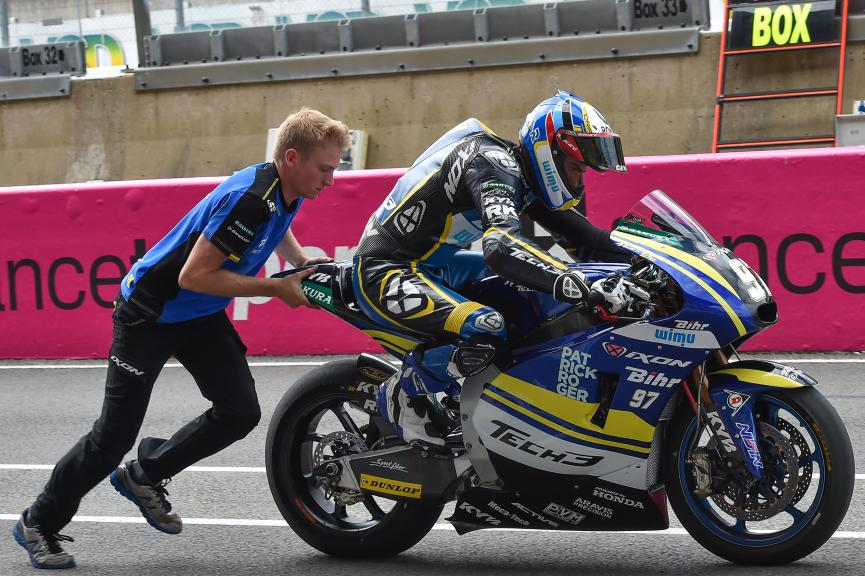 Xavi Vierge, Tech 3 Racing, LeMans Moto2 & Moto3 Oficial Test