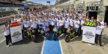 500th victory celebration of Yamaha