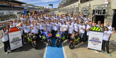 Yamaha looks back on 500 Grand Prix wins