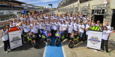 Yamaha blickt zurück auf 500 Grand Prix Siege