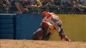 Marquez leaves France on a DNF but remains positive as he thinks he can reduce the gap with the championship leaders