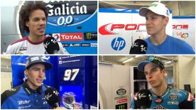Die Fahrer sprechen über den eintägigen Test in Le Mans.