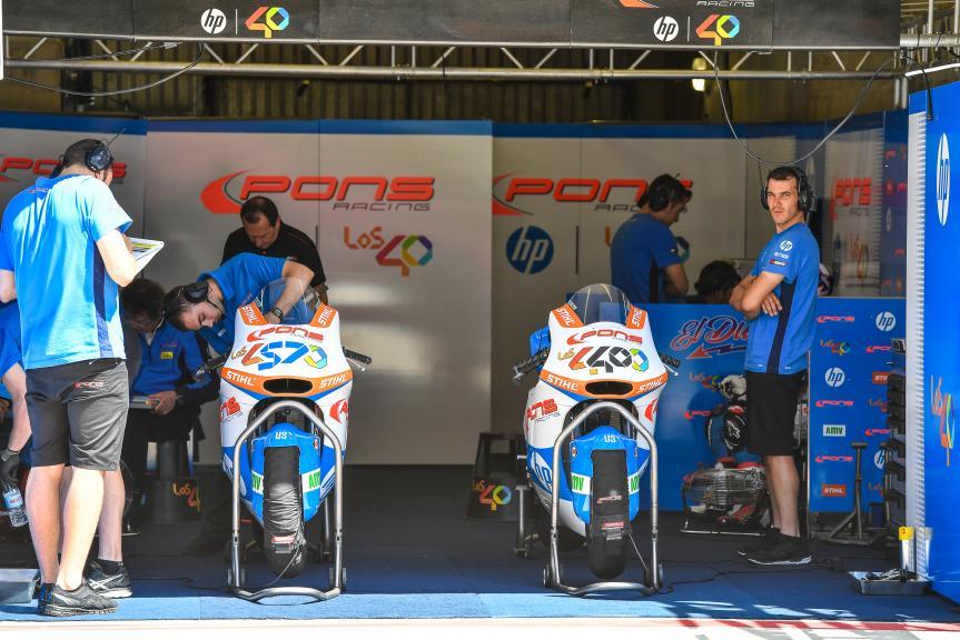 LeMans Moto2 & Moto3 Oficial Test