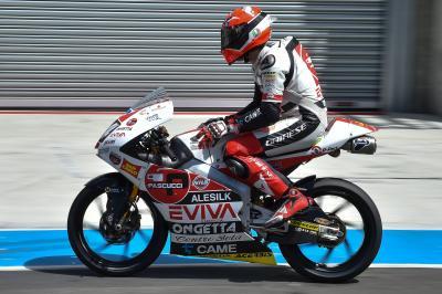 Lunes de test para Moto3™ en Le Mans
