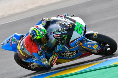 Testing for Moto2™ at Le Mans