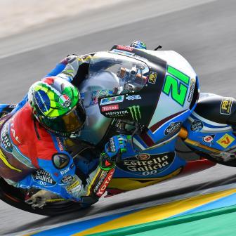 Testtag für die Moto2™ in Le Mans