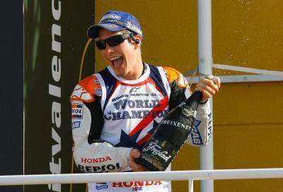 Honda HRC message of condolence - Nicky Hayden