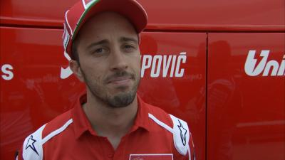 Dovizioso on his relationship with Hayden