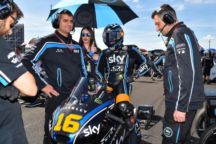 Andrea Migno, Sky Racing Team VR46, HJC Helmets Grand Prix de France