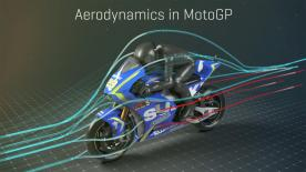 Uncover the aerodynamic technology behind Suzuki's innovative front fairing designed to aid in acceleration.