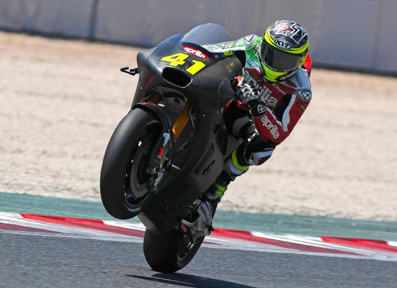 Aleix Espargaro, Aprilia Racing Team Gresini, Montmelo Test