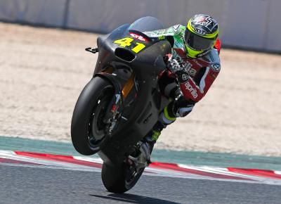 Aprilia development continues at two-day test in Barcelona