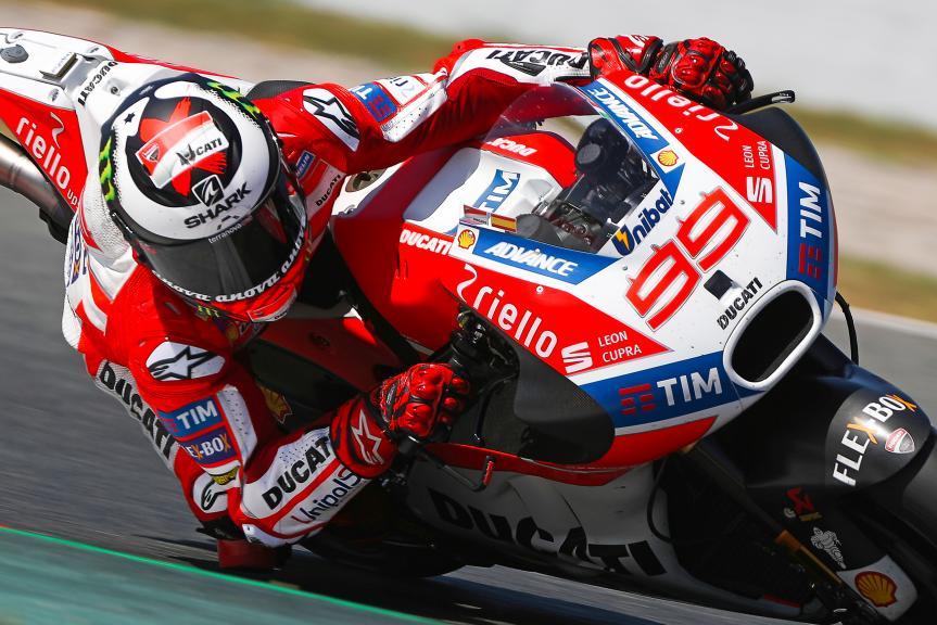 Jorge Lorenzo, Ducati Team, Montmelo Test