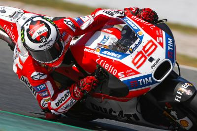 Ducati absolviert private Testtage in Barcelona