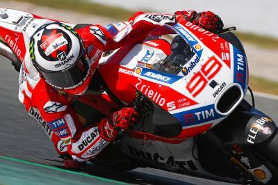 Ducati, positivi i test a Barcellona
