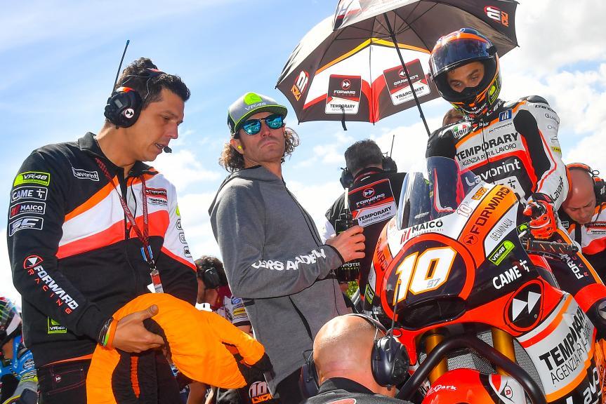 Luca Marini, Forward Team