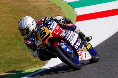 Fenati starts home GP on top