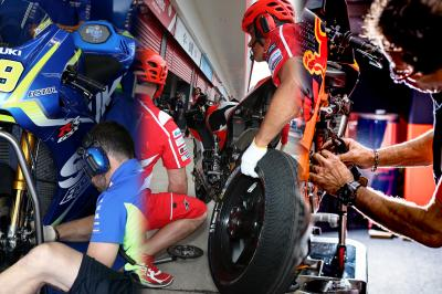 MotoGP™ Paddock: 6 manufacturers, 3 cultures, same passion