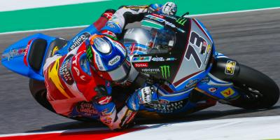 Alex Marquez storms enemy territory in Italy