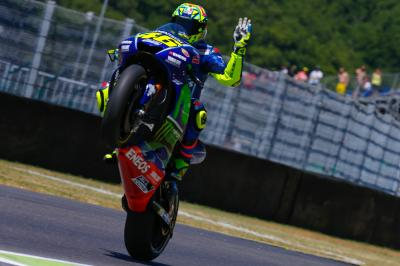 "Rossi: ""We had to suffer, but we tried"""