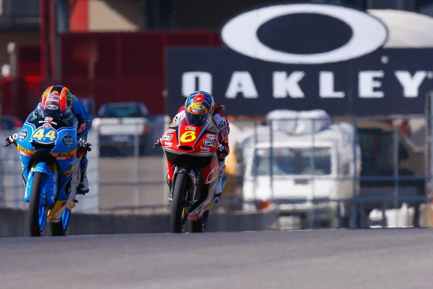 Aron Canet, Estrella Galicia 0,0, Maria Herrera, AGR Team, Gran Premio d'Italia Oakley