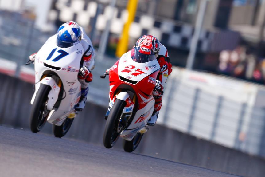 John Mcphee, British Talent Team, Kaito Toba, Honda Team Asia, Gran Premio d'Italia Oakley
