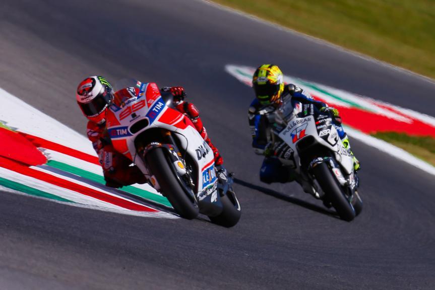 Jorge Lorenzo, Ducati Team, Karel Abraham, Pull&Bear Aspar Team, Gran Premio d'Italia Oakley