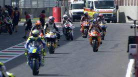 The opening Free Practice session of the Moto2™ World Championship at the #ItalianGP.