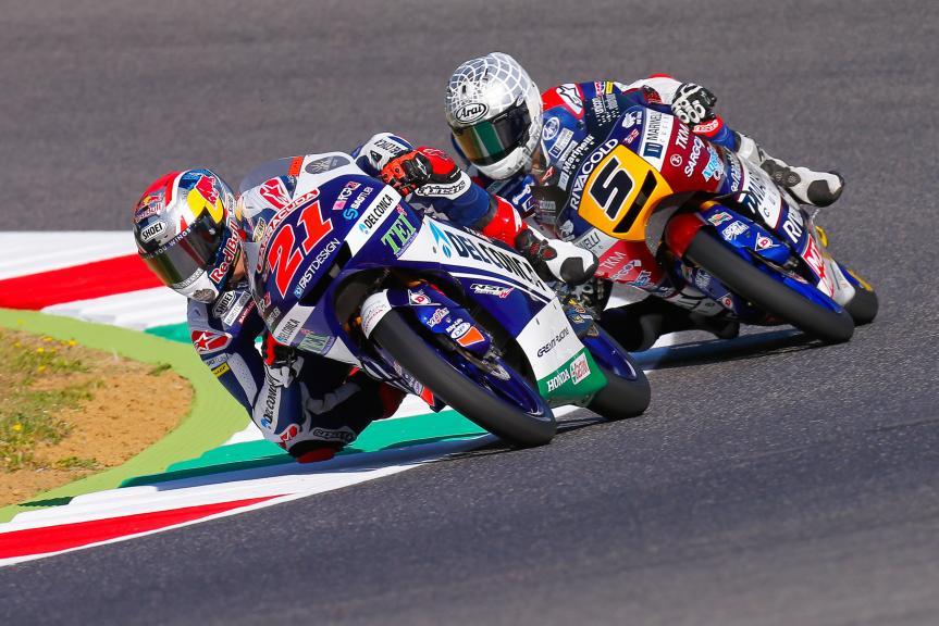 Fabio Di Giannantonio, Del Conca Gresini Moto3, Romano Fenati, Marinelli Rivacold Snipers, Gran Premio d'Italia Oakley