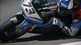 The Spaniard was on top ahead of Takaaki Nakagami and Franco Morbidelli after Free Practice on Friday