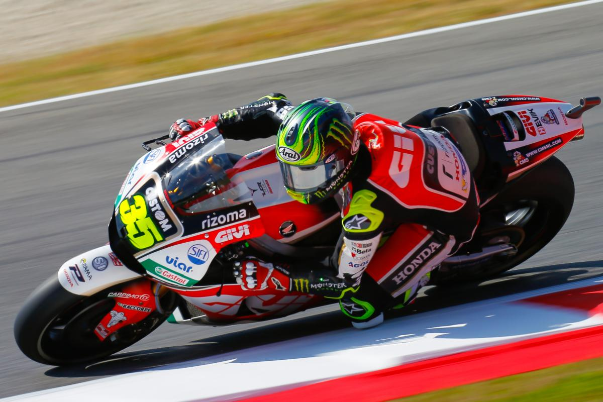 "Crutchlow: ""We still have to improve"" 