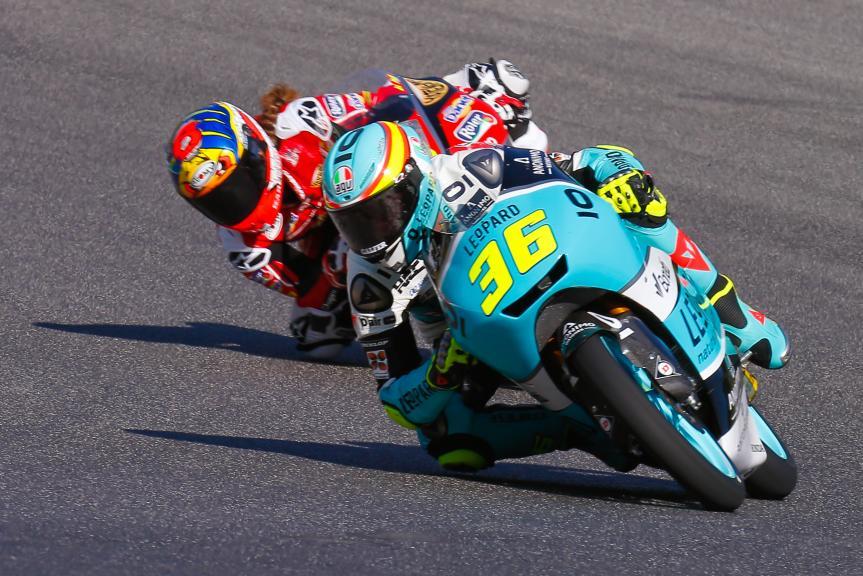 Joan Mir, Leopard Racing, Maria Herrera, AGR Team, Gran Premio d'Italia Oakley