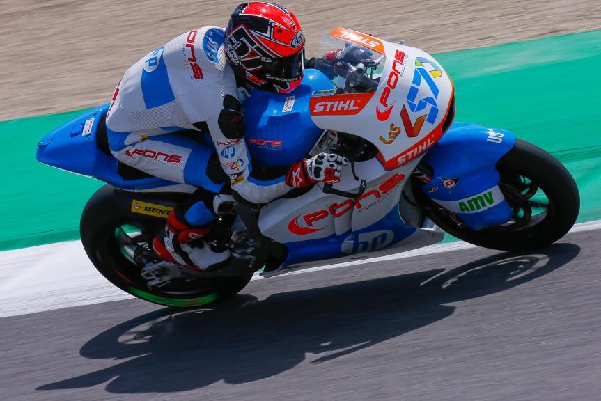 Edgar Pons, Pons HP40, Gran Premio d'Italia Oakley