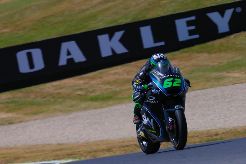 Stefano Manzi, Sky Racing Team VR46, Gran Premio d'Italia Oakley