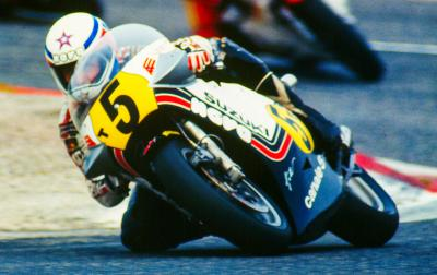 Marco Lucchinelli becomes a MotoGP™ Legend