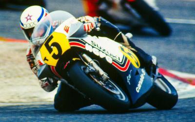 Marco Lucchinelli se convierte en MotoGP™ Legend