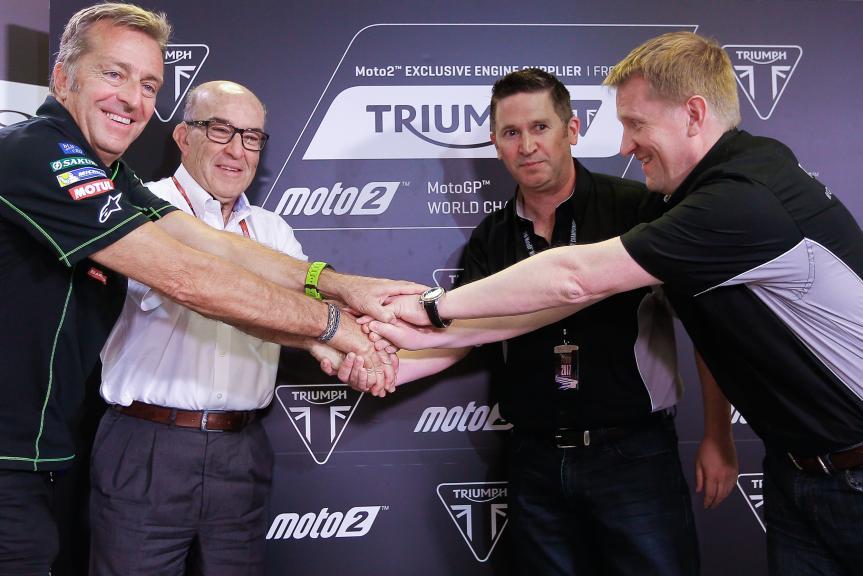 Triump in Moto2