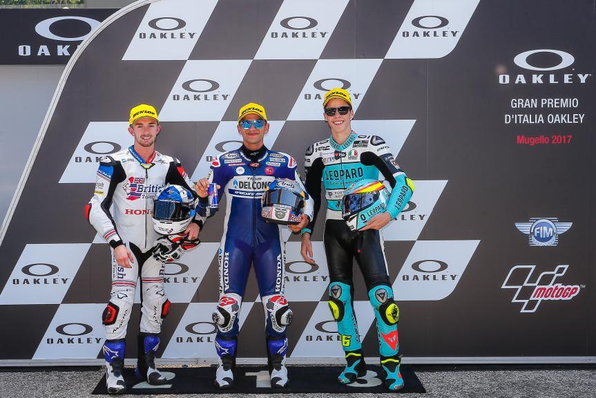Jorge Martin, John Mcphee, Joan Mir, Gran Premio d'Italia Oakley