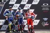 Maverick Vinales, Valentino Rossi, Andrea Dovizioso, Gran Premio d'Italia Oakley