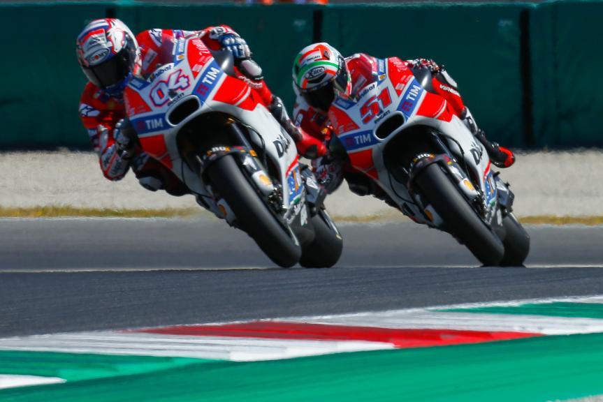Andrea Dovizioso, Michele Pirro, Ducati Team, Gran Premio d'Italia Oakley