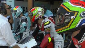 The entire Qualifying session from the #ItalianGP of the Moto3™ World Championship.